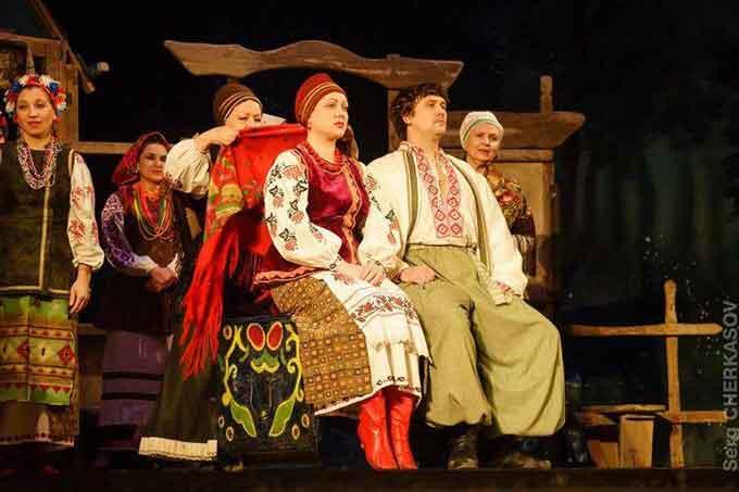 Візитівка черкаського театру