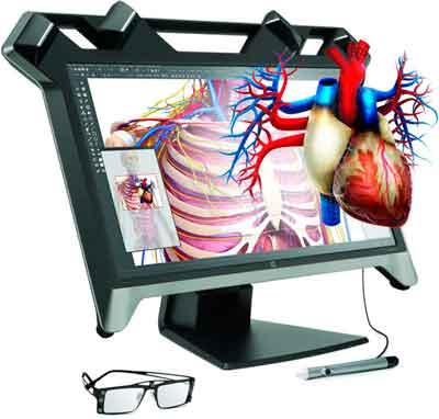 Представлений монітор віртуальної реальності HP Zvr