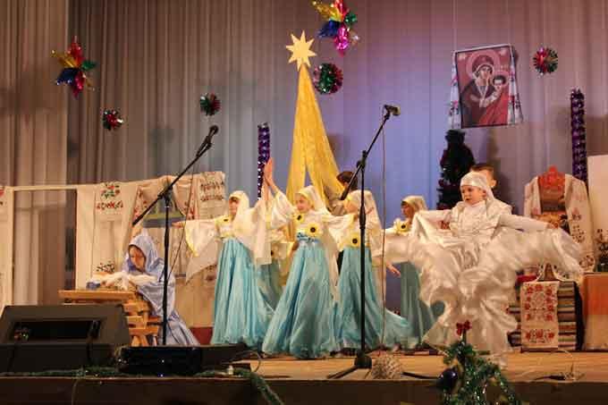 В Чигирине прошёл Фестиваль колядок