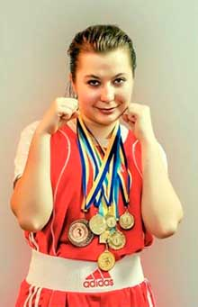 Женский бокс: Анастасия Цуркан завоевала бронзу