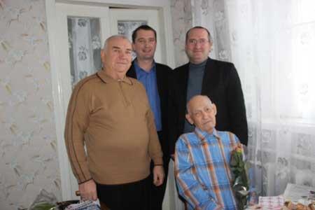 В Монастирищі вітали краєзнавця Івана Волошенка