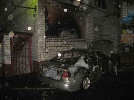 За сутки в области подожгли два автомобиля