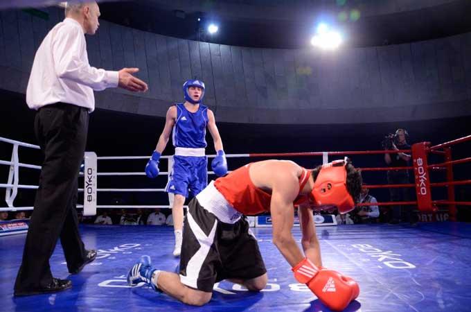 Олег Прудкий завтра битиметься з британським боксером