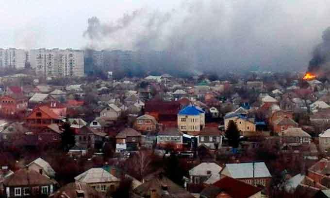 На Донбасі почалася великомасштабна війна