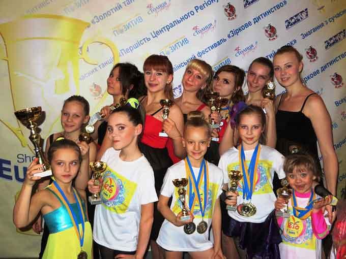 Черкаські танцюристи вибороли більше пів сотні нагород та призових кубків