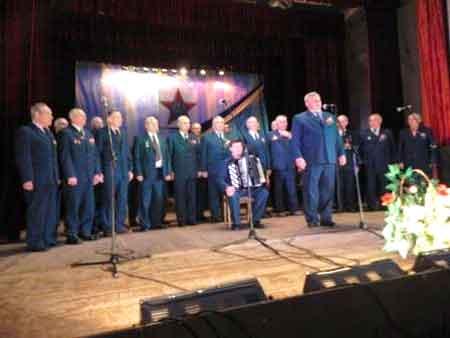 Шполянський хор ветеранів війни та праці відзначив своє 30-ти річчя