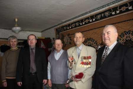 Єдиному із живих визволителів Монастирищенського району вручили медаль