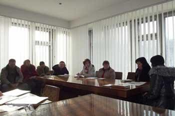 У Каневі обговорили стан надання соціальних послуг переселенцям