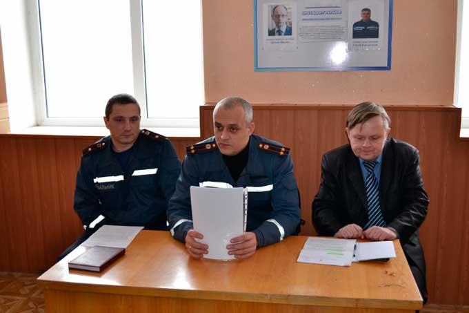 На Драбівщині підведено підсумки роботи служби цивільного захисту за 2014 рік