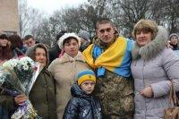 Андрій Шквира з рідними