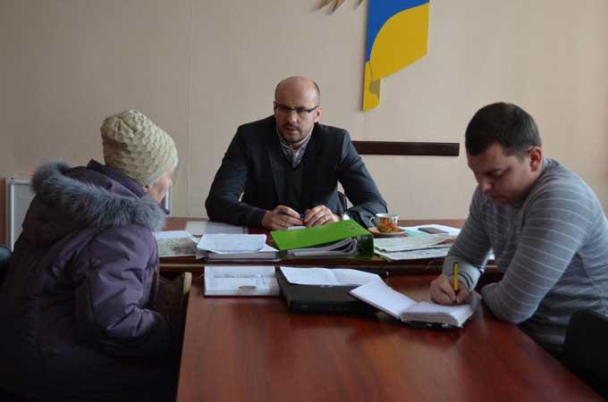 Сергій Рудик привів прийом виборців та зустрівся з керівництвом міста у Смілі