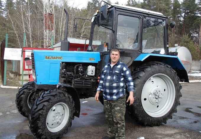 Золотоніський лісгосп придбав новий трактор