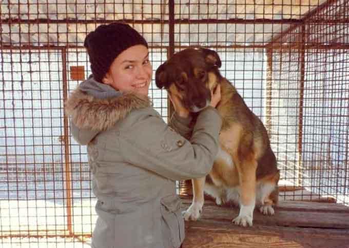 Ольга Курська і притулок для собак