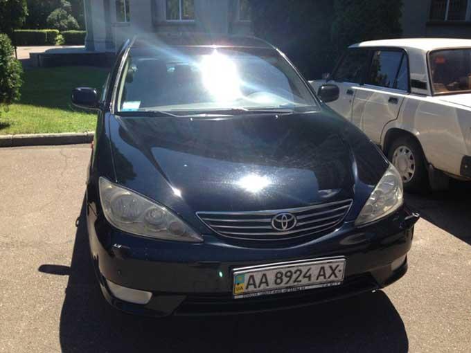 Автомобіль Одарича виставили на продаж