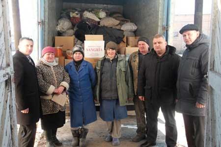 З Христинівщини вкотре відправлено вантаж гуманітарної допомоги