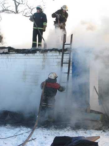 У Кам'янському районі на пожежі загинула жінка