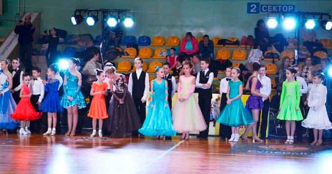У Черкасах пройшли змагання з бальних танців Mastersofdance