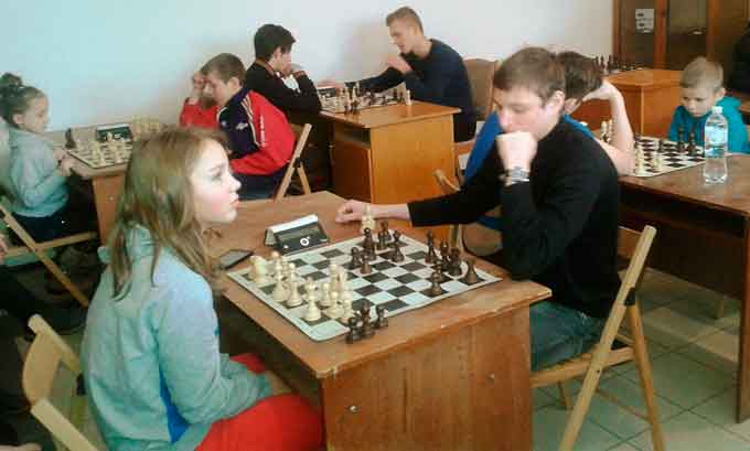 У Черкасах відбувся шаховий турнір серед молоді