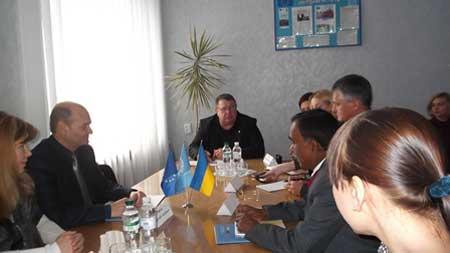 Керівник Корсунщини зустрівся з керівництвом Проекту ЄС/ПРООН