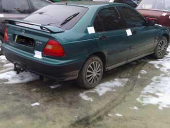 На посту ДАІ «Золотоноша» затримали автомобіль, який був у розшуку