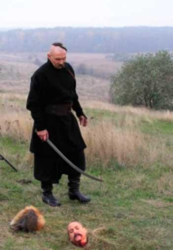 У Леґедзиному знімають двохгодинний фільм про козаків
