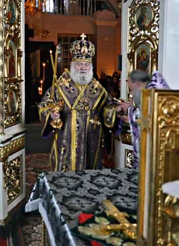 Владика Софроній підтримав Предстоятеля УПЦ у заклику до посиленого посту і молитви за Україну