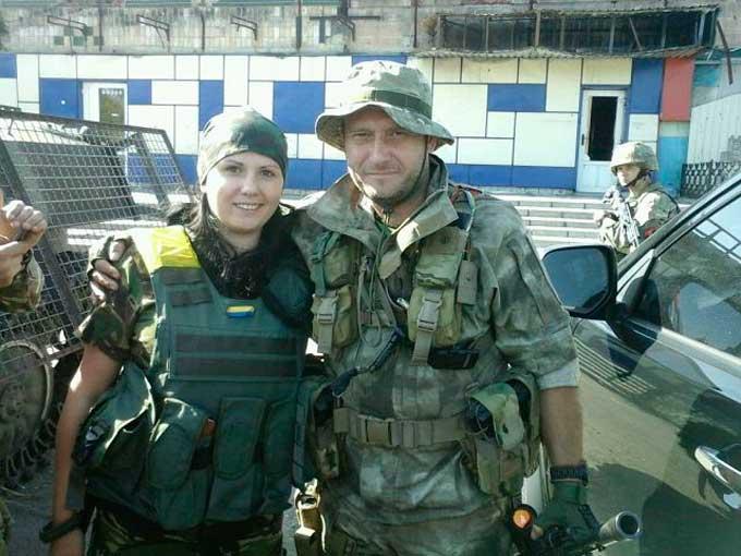 На Сході бійцями Правого сектору керувала 26-річна черкащанка