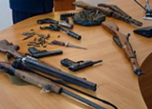 На Черкащині вилучено 19 одиниць вогнепальної зброї, понад один кілограм вибухівки та 12 гранат