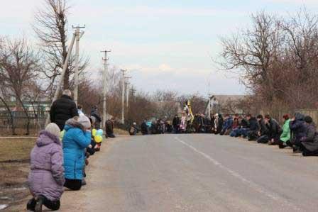 Жителі селища Цибулів проводжали в останню путь Петра Кізіма