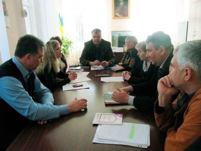 президія Чигиринської районної ради