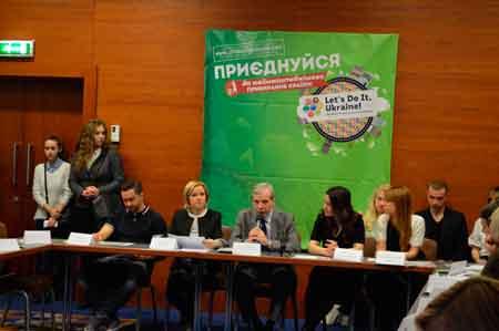Українські зірки разом із Міністерством екології обговорили питання, як зробити країну чистішою