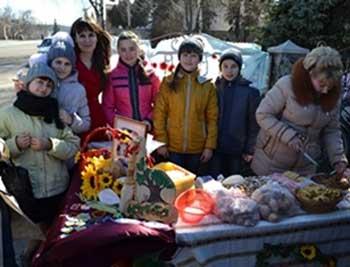 У Лисянці відбувся благодійний ярмарок на підтримку захисників Вітчизни