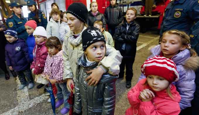 Черкащина гостинно приймає дітей з Лисичанської школи