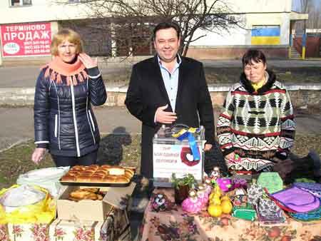 У мікрорайоні «Дніпровський» нарешті з'явився свій ринок