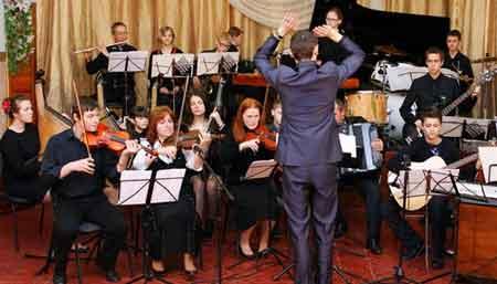 У Золотоноші відбувся дебют оркестру