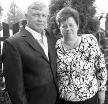 Віктор Федорович і Олена Василівна Кононенко, Шпола