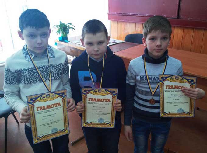 Юні чигиринці вдало виступили на обласній першості з шахів серед школярів