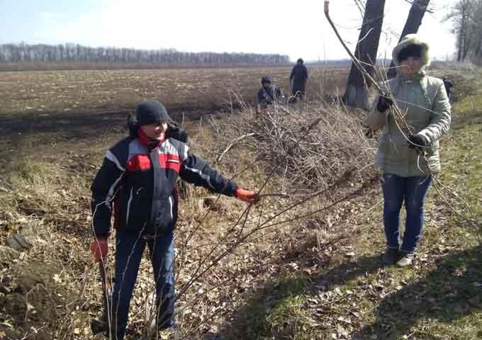 """У Маньківському районі в розпалі акція """"За чисте довкілля"""""""