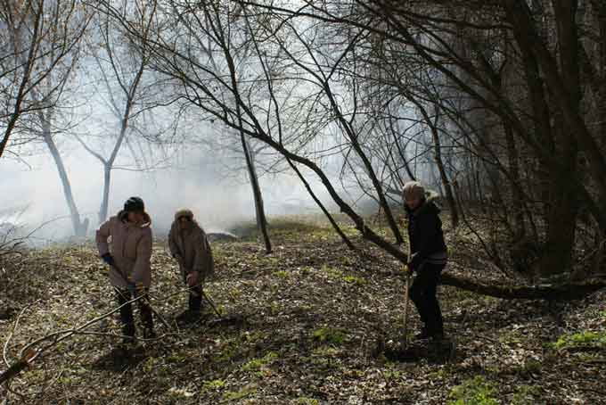 В Чорнобаї проводяться заходи з благоустрою