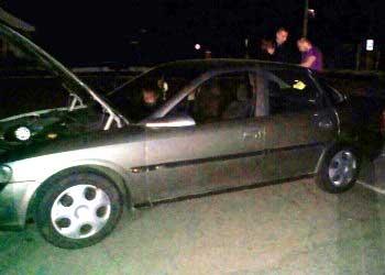 Працівники ДАІ виявили автомобіль із перебитим номером кузова
