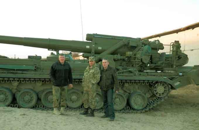 «Автомайдан-Черкаси» спорядив до АТО новостворену артилерійську бригаду