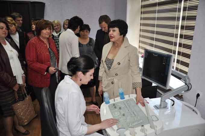 В Чорнобаївській ЦРЛ відкрили кабінет ультразвукової діагностики