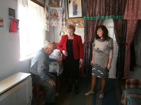 Березняківських ветеранів привітали із Днем Перемоги
