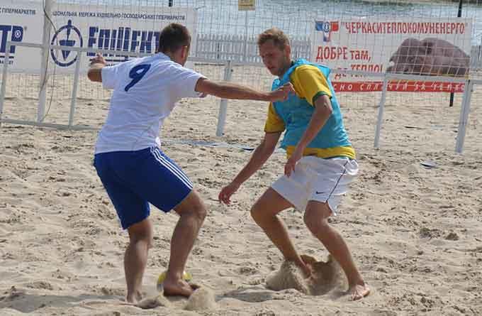 Про пляжний футбол у Черкасах