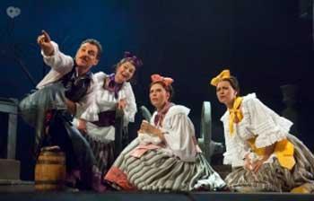 Виставу «Дами і гусари» покажуть у театрі ім. Франка