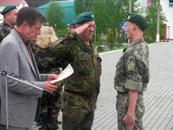 Випускники з Черкаського району солдатській мудрості навчалися в Оршанці
