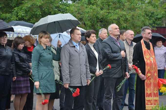 На Чорнобаївщині вшанували пам'ять жертв голодомору та політичних репресій