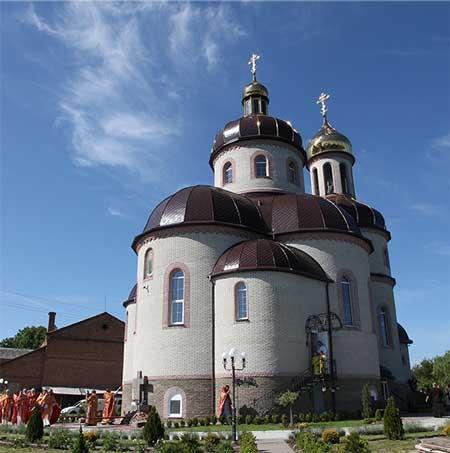 На Черкащині освятили унікальний храм