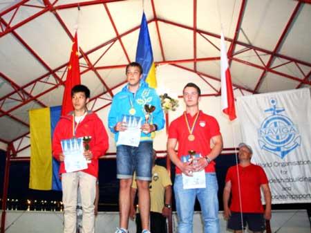 Черкаський першокурсник – чемпіон світу з судномодельного спорту
