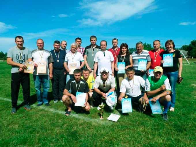Депутати Драбівського району здобули перші місця в обласній Спартакіаді